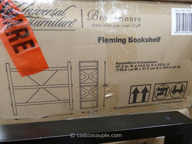 Universal Furniture Fleming Bookcase Costco 2