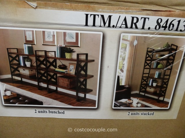 Universal Furniture Fleming Bookcase Costco 3