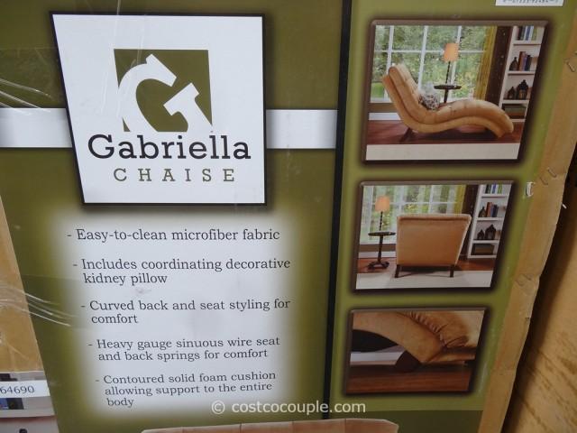 Universal  Furniture Gabriella Fabric Chaise Costco 2