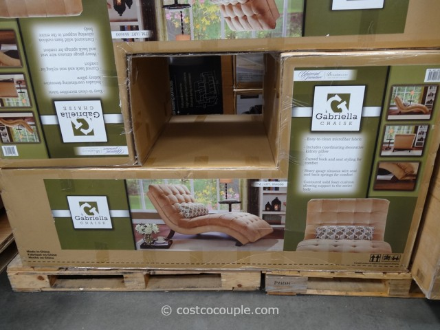Universal  Furniture Gabriella Fabric Chaise Costco 3