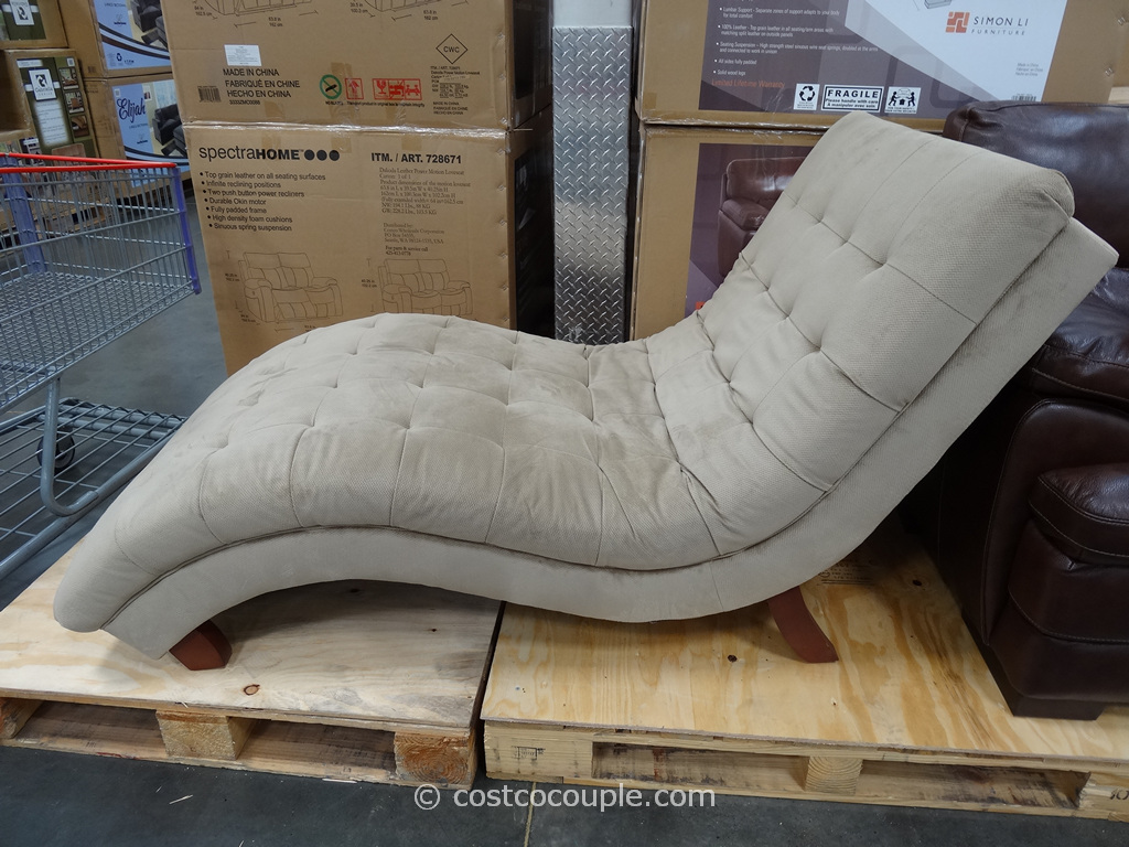 Universal furniture gabriella fabric chaise for Chaise lounge costco