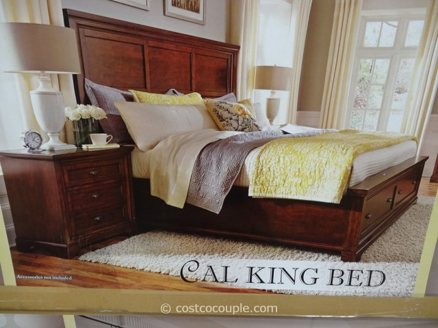 Universal Furniture Lulea Cove Cal-King Bed Costco 7