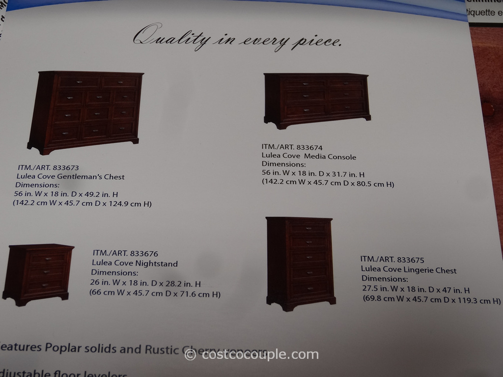Universal Furniture Lulea Cove Lingerie Chest