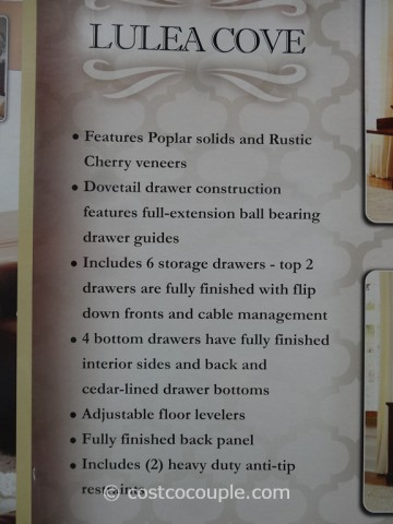 Universal Furniture Lulea Cove Media Console