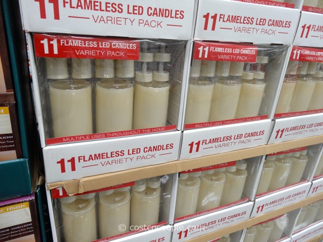 11 Piece Flameless Led Candles