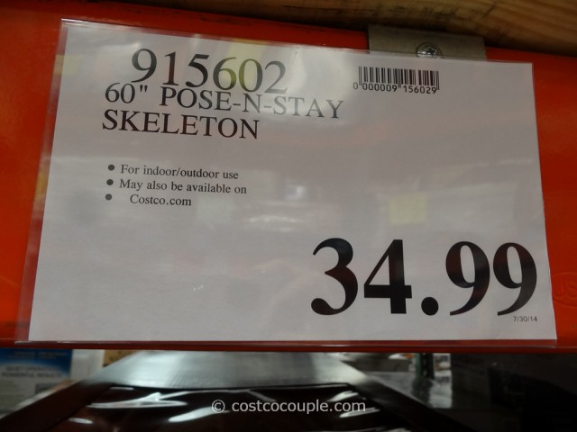 60-Inch Pose-N-Stay Skeleton Costco 1