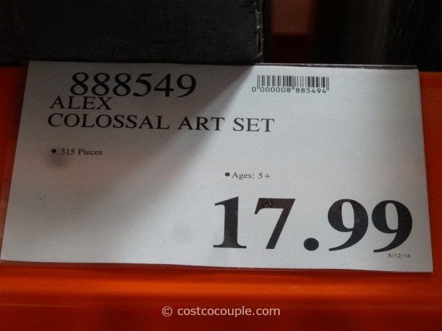 Alex Colossal Art Set Costco 1