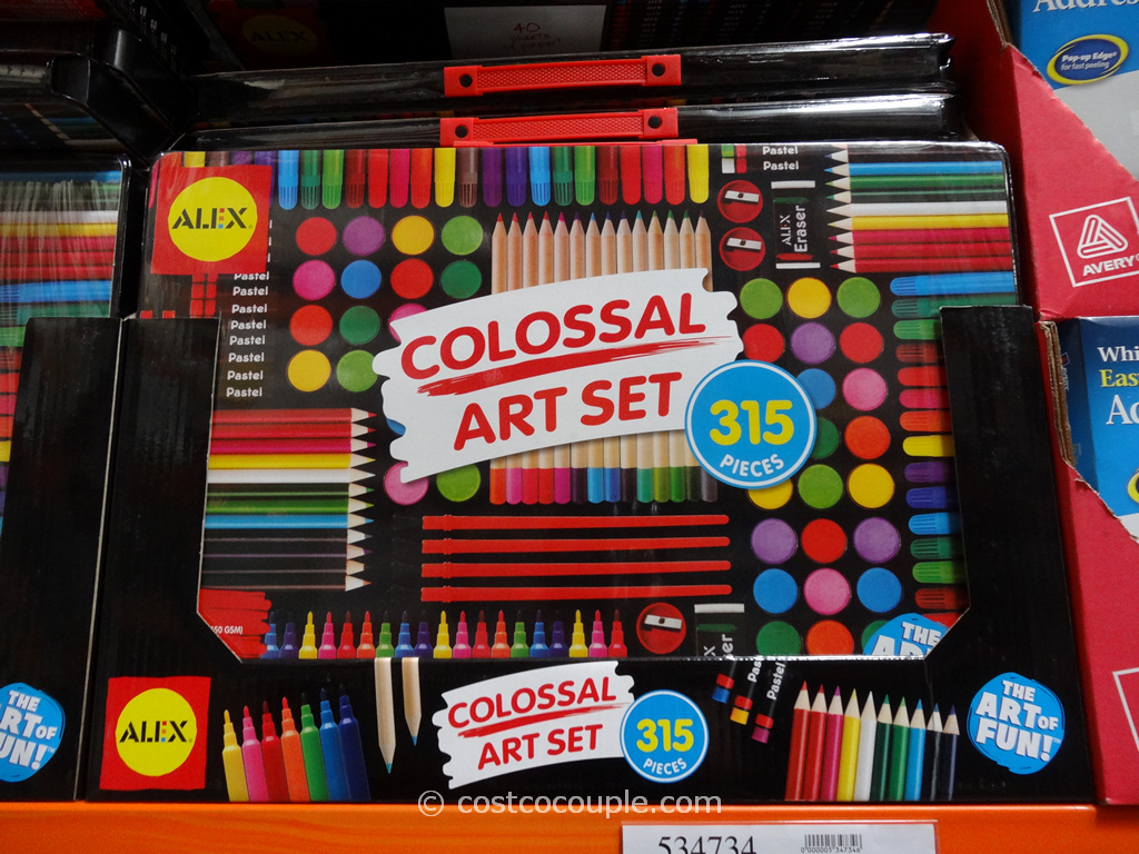 alex colossal art set by olli office school supplies