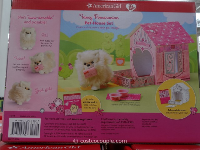 American Girl Pet House Set Costco 6