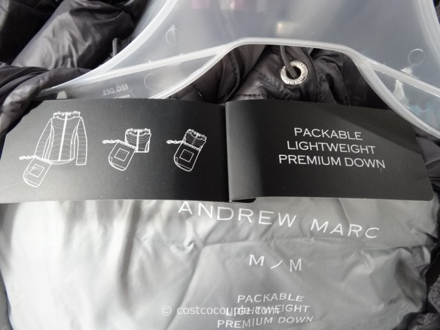 Andrew Marc Ladies Packable Down Jacket
