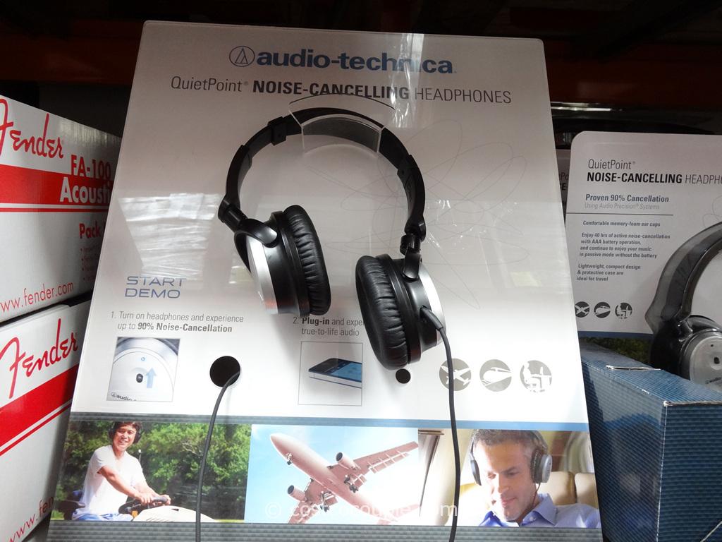 Audio Technica Noise Canceling Headphones Costco 1