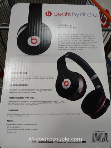 Beats By Dr Dre Wireless Bluetooth Headphones Costco 2
