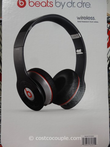 Beats By Dr Dre Wireless Bluetooth Headphones Costco 3