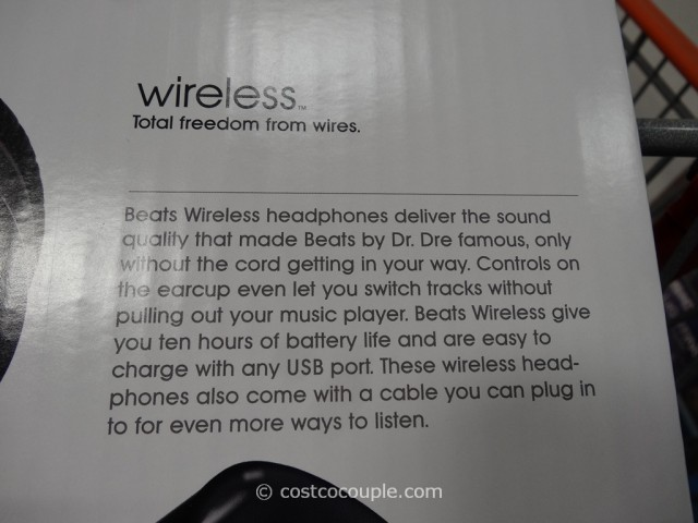 Beats By Dr Dre Wireless Bluetooth Headphones Costco 7