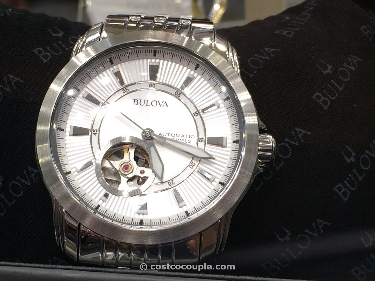 Bulova Mens Automatic Stainless Steel Costco 1