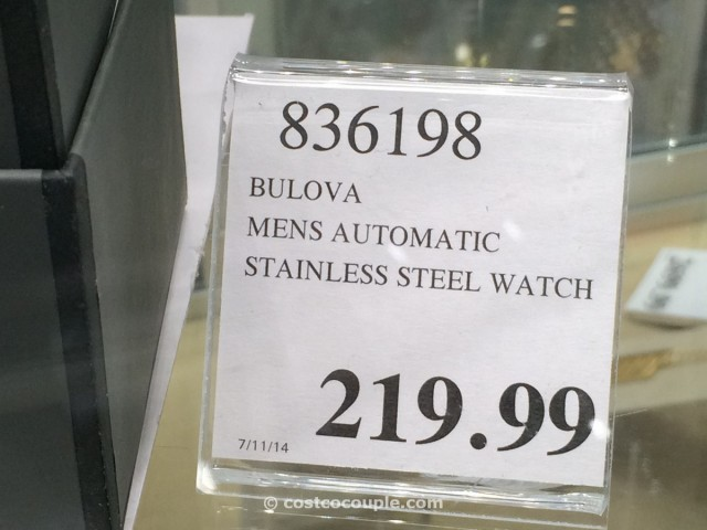 Bulova Mens Automatic Stainless Steel Costco 2