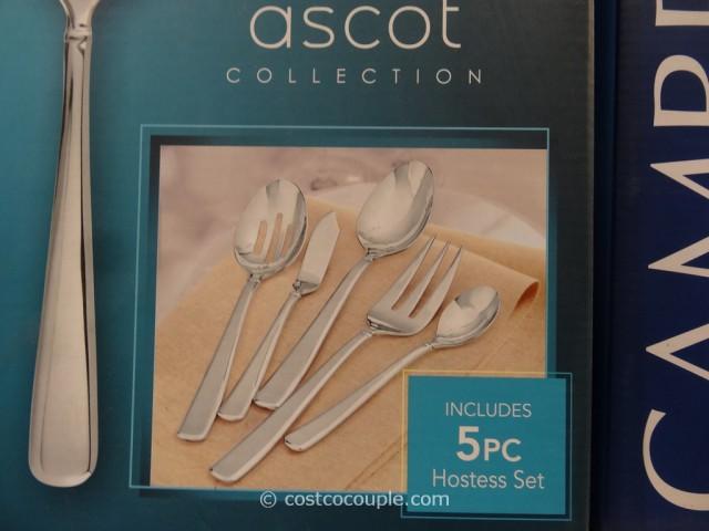 Cambridge Ascot Kara Sand Flatware Set Costco 3