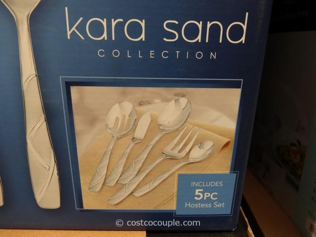 Cambridge Ascot Kara Sand Flatware Set Costco 4