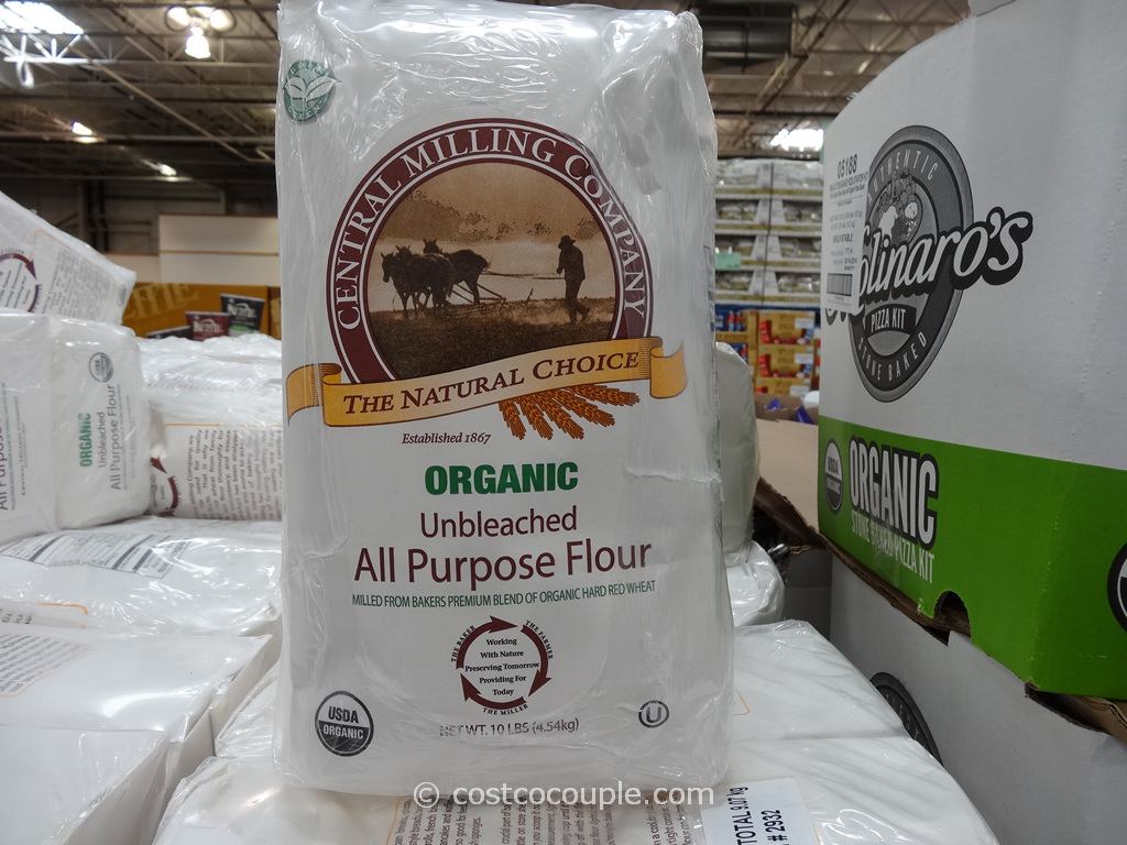 Central Milling Company Organic Unbleached All Purpose Flour Costco 2