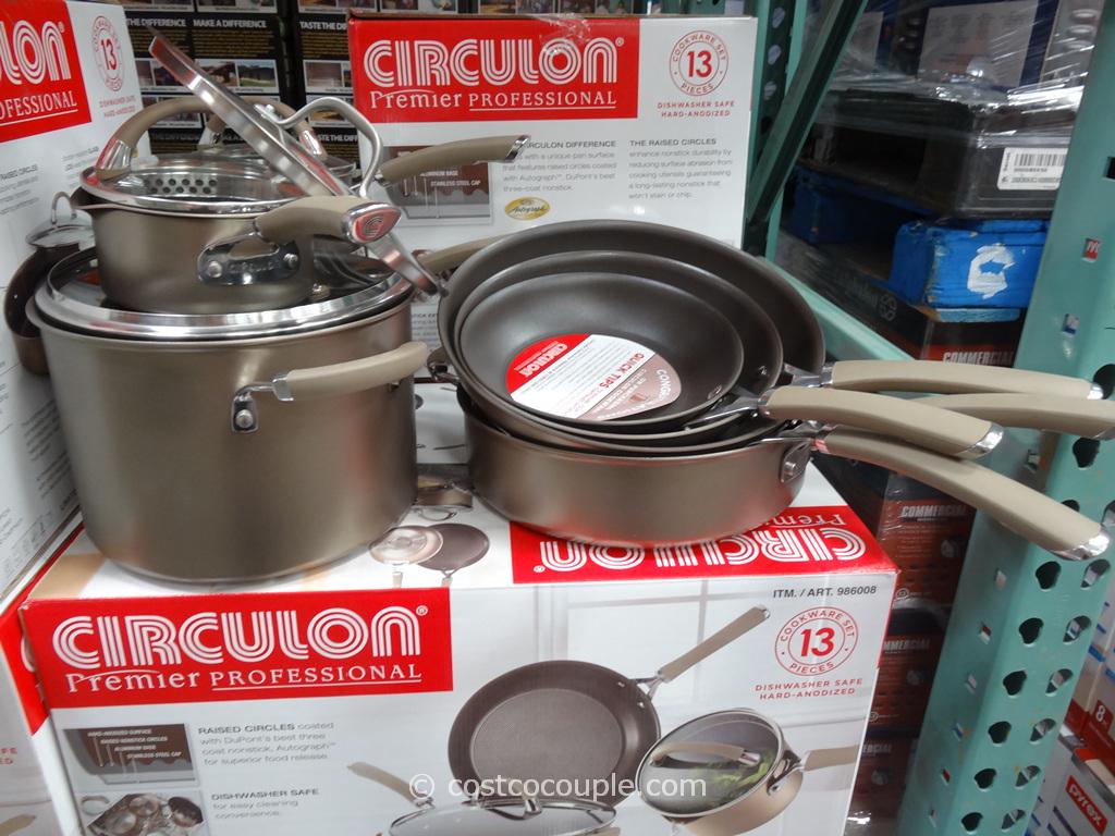 Circulon Premier Professional 13-Piece Cookware Set Costco 2