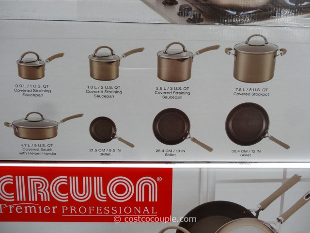 Circulon Premier Professional 13 Piece Cookware Set