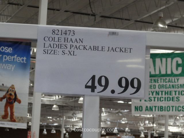 Cole Haan Ladies Packable Jacket