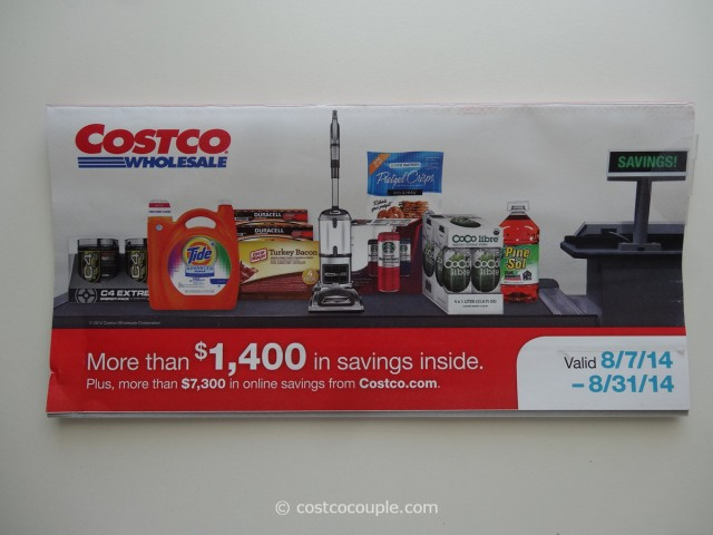 Costco August 2014 Coupon Book 1