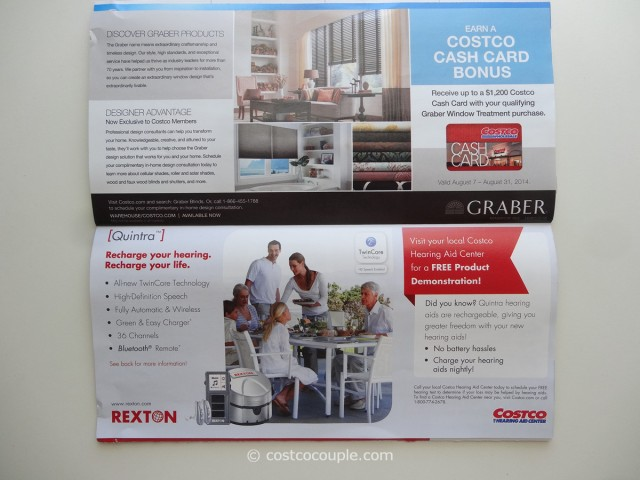 Costco August 2014 Coupon Book 11