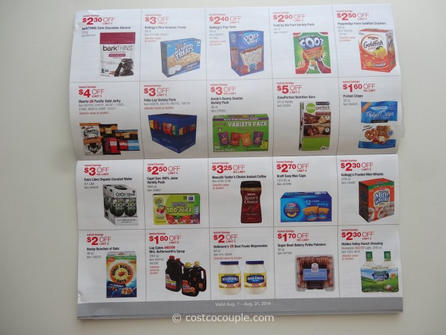 Costco August 2014 Coupon Book 4
