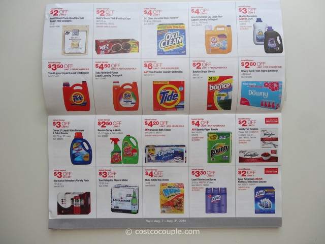 Costco August 2014 Coupon Book 5