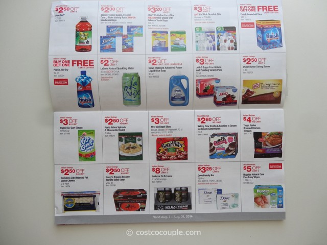 Costco August 2014 Coupon Book 6