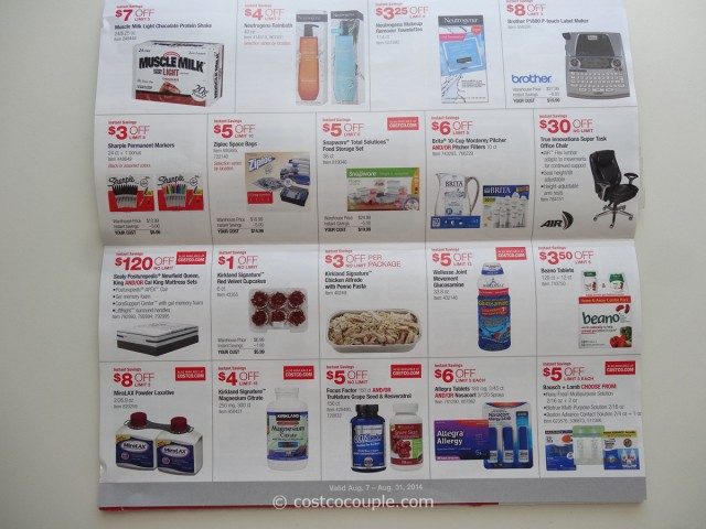 Costco August 2014 Coupon Book 7
