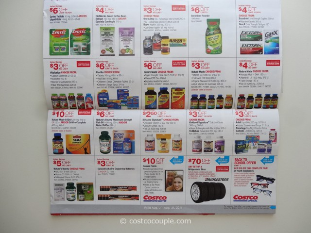 Costco August 2014 Coupon Book 8