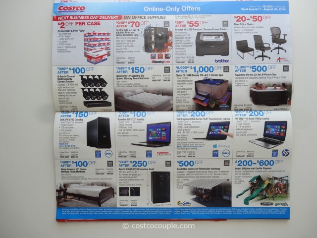 Costco August 2014 Coupon Book 9