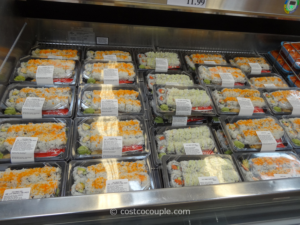Costco Fresh Sushi Rolls 1
