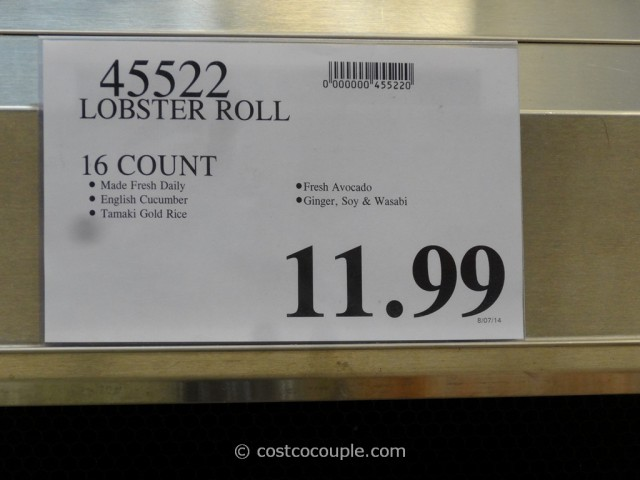 Costco Fresh Sushi Rolls 2