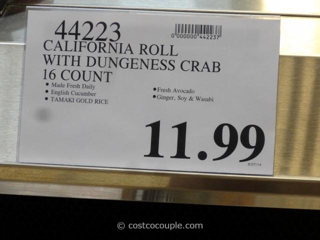 Costco Fresh Sushi Rolls 3