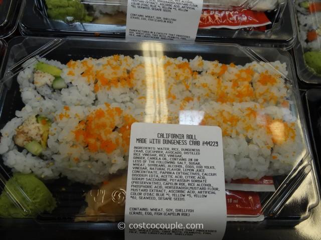 Costco Fresh Sushi Rolls 4
