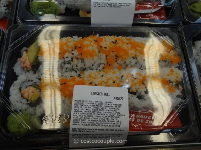 Costco Fresh Sushi Rolls 5