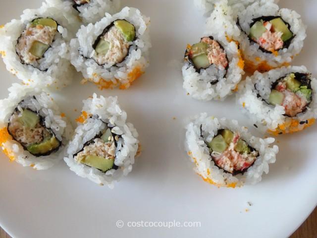 Costco Fresh Sushi Rolls 6