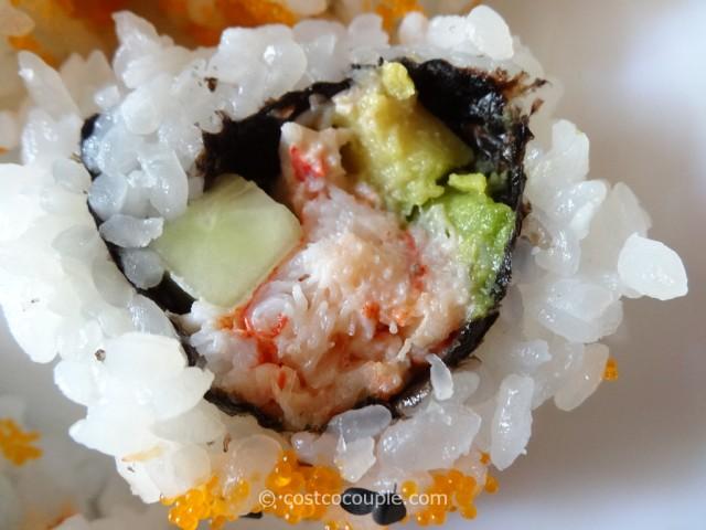 Costco Fresh Sushi Rolls 8