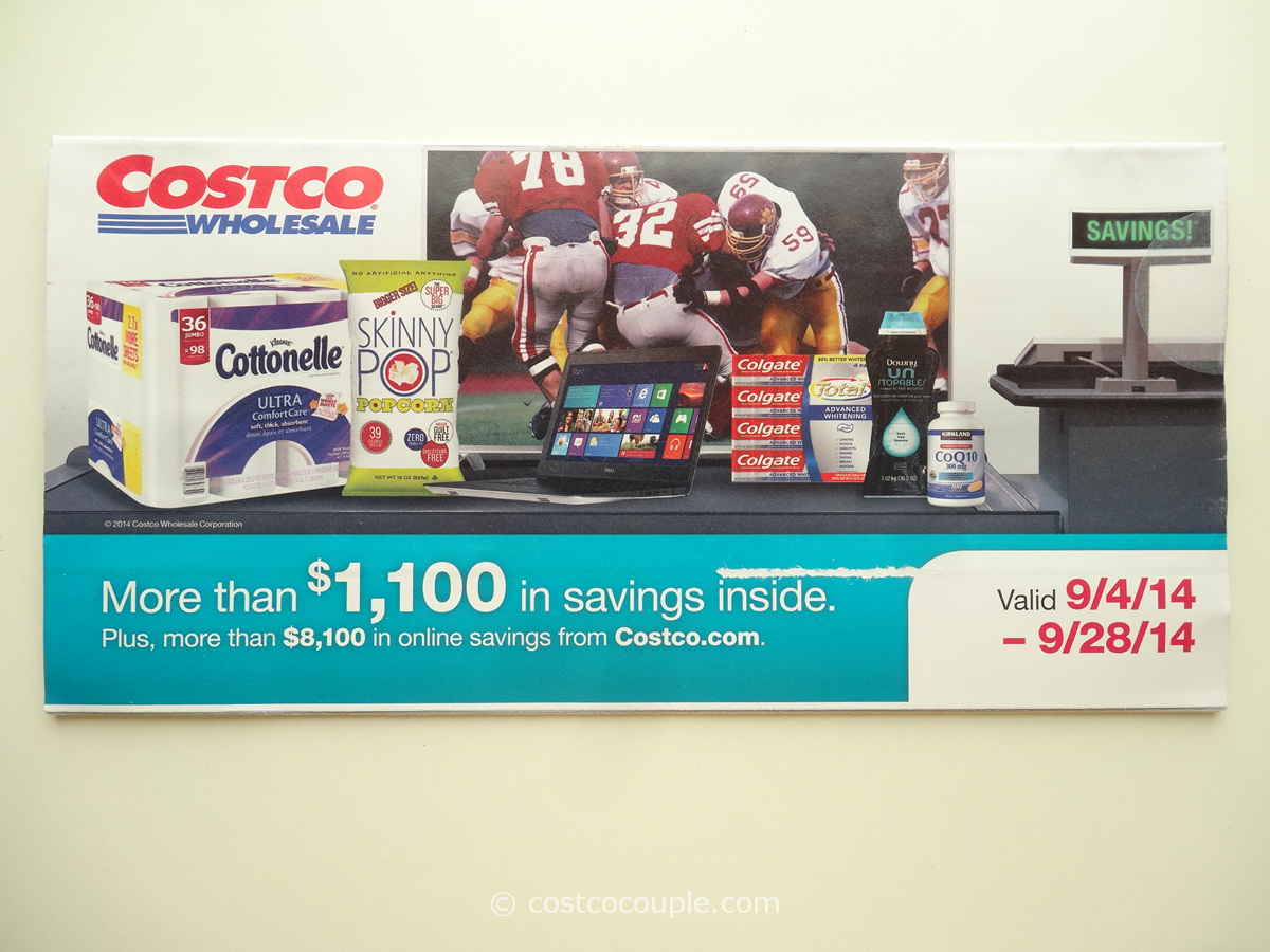 Costco September 2014 Coupon Book 1
