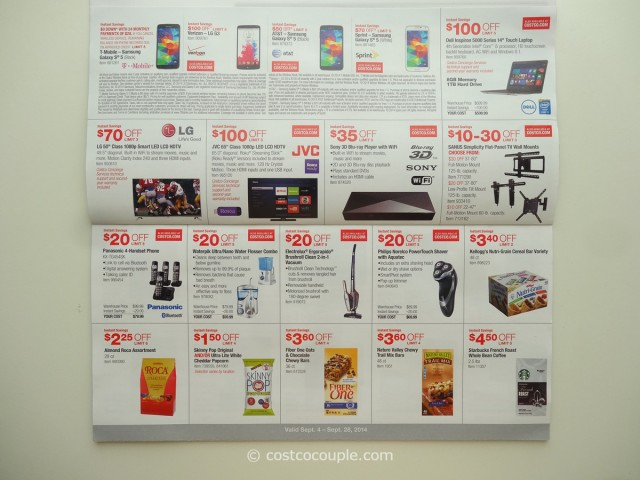 Costco September 2014 Coupon Book 3