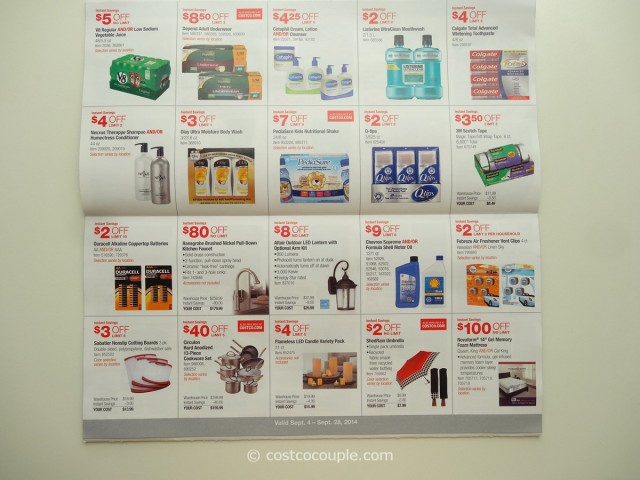 Costco September 2014 Coupon Book 6