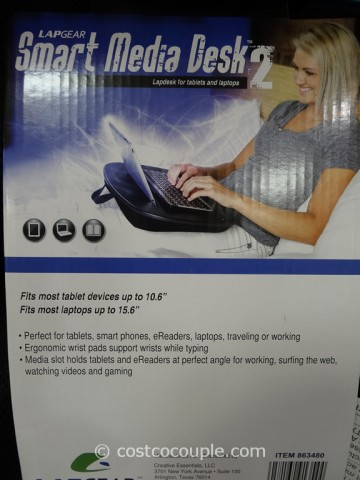 Creative Essentials Smart Media Lap Desk Costco 2