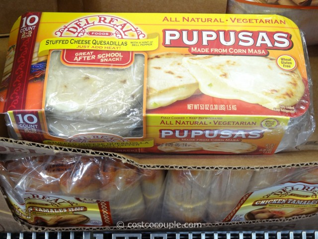 Del Real Foods Cheese Pupusa Costco 1