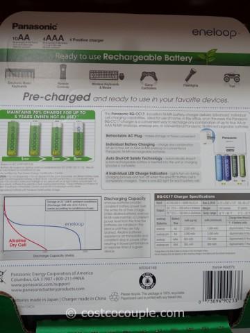 Eneloop Rechargeable Batteries Set Costco 2