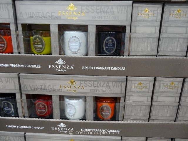 Essenza Vintage Luxury Fragrant Candles Costco 2