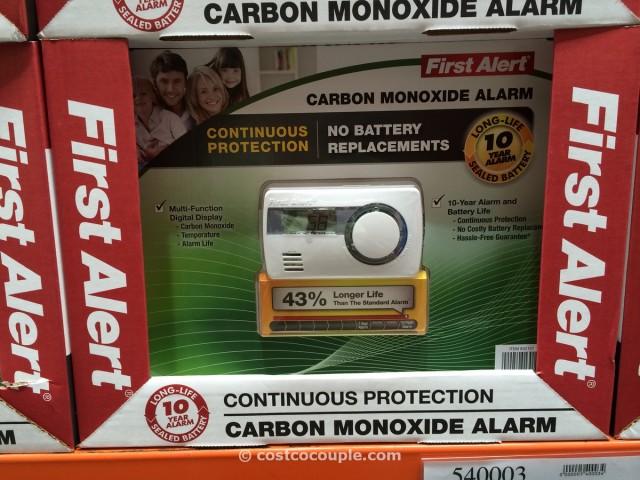first alert 10 year carbon monoxide alarm costco 2 - First Alert Carbon Monoxide Detector