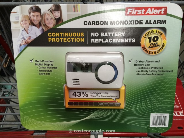 First Alert 10 Year Carbon Monoxide Alarm